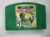 NINTENDO 64 Game ARMY MEN SARGES HEROES 2 *CARTRIDGE ONLY*